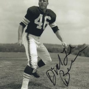 Dick Lebeau Autographed Cleveland Browns 8x10 Photo