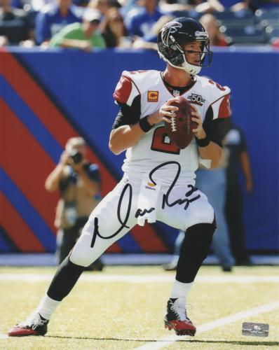 Matt Ryan Autographed Atlanta Falcons 8x10 Photo