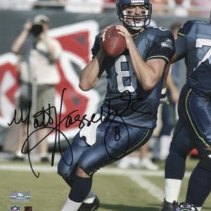 Matt Hasselbeck Autographed Seattle Seahawks 8x10 Photo
