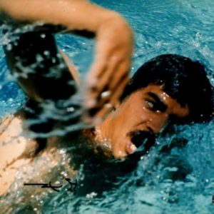 Mark Spitz Autographed Swimming Olympics 8x10 Photo