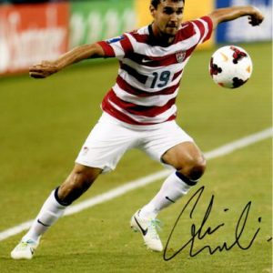 Chris Wondolowski Autographed USA Soccer 8x10 Photo