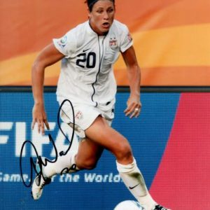 Abby Wambach Autographed USA Soccer 8x10 Photo