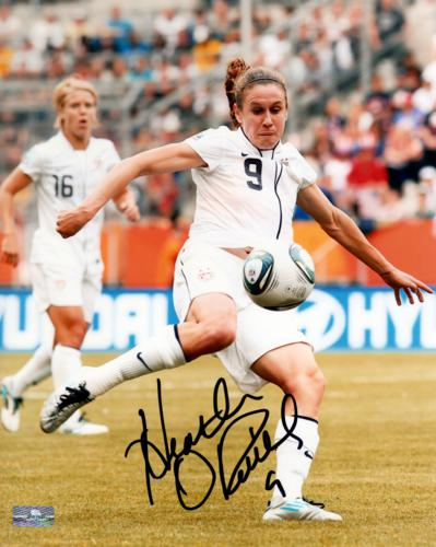 Heather O'Reilly Autographed USA Soccer 8x10 Photo