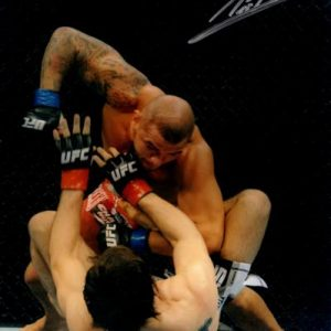 Thiago Alves Autographed MMA UFC 8x10 Photo