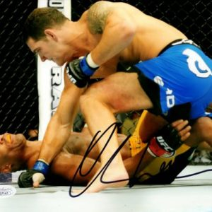 Chris Weidman Autographed MMA UFC 8x10 Photo - JSA