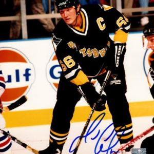 Mario Lemieux Autographed Pittsburgh Penguins 8x10 Photo - JSA