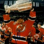 Martin Brodeur Autographed New Jersey Devils 8×10 Photo