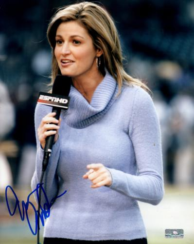 Erin Andrews Autographed ESPN 8x10 Photo