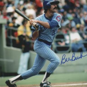 Bill Buckner Autographed Chicago Cubs 8x10 Photo