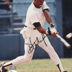 Dave Winfield Autographed New York Yankees 8x10 Photo - JSA