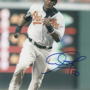 Adam Jones Autographed Baltimore Orioles (Running) 8x10 Photo
