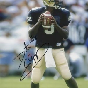 Daunte Culpepper Autographed University of Central Florida UCF Knights 8x10 Photo