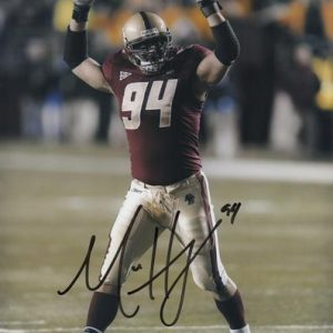 Mark Herzlich Autographed Boston College Eagles 8x10 Photo