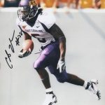 Chris Johnson Autographed East Carolina University ECU Pirates 8×10 Photo