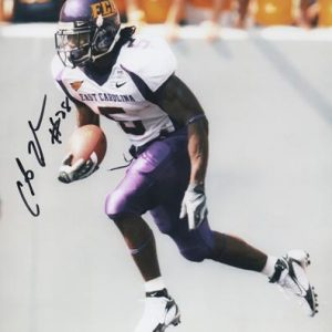 Chris Johnson Autographed East Carolina University ECU Pirates 8x10 Photo