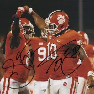 Sammy Watkins And Tajh Boyd Autographed Clemson Tigers 8x10 Photo