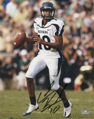 Colin Kaepernick Autographed Nevada Wolfpack 8x10 Photo