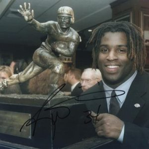 Ricky Williams Autographed Texas Longhorns (Heisman Trophy) 8x10 Photo