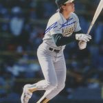 Jose Canseco Autographed Oakland A's 8×10 Photo