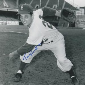 Tommy Lasorda Autographed Brooklyn Dodgers (Playing) 8x10 Photo