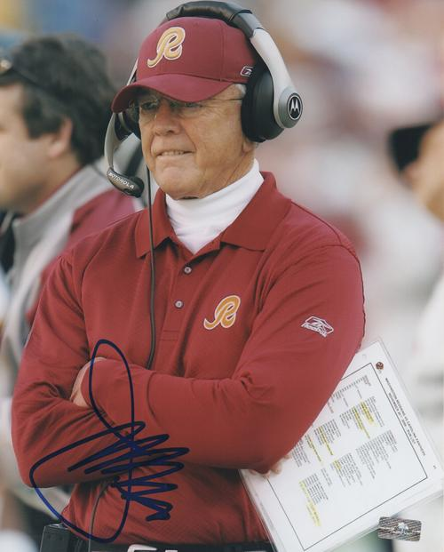 Joe Gibbs Autographed Washington Redskins 8x10 Photo