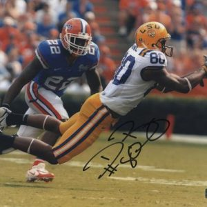 Dwayne Bowe Autographed Louisiana State LSU Tigers 8x10 Photo