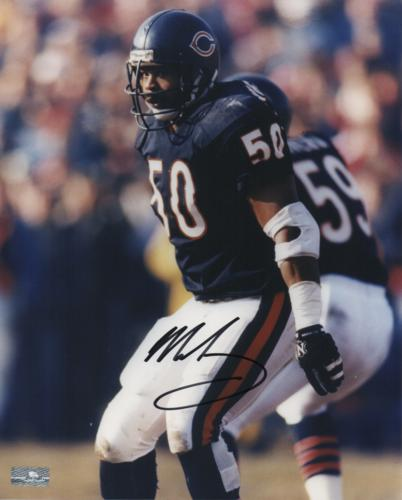 Mike Singletary Autographed Chicago Bears 8x10 Photo