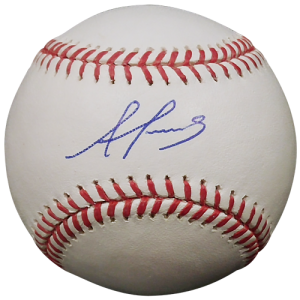 Alex Reyes Autographed Official MLB Baseball - St. Louis Cardinals