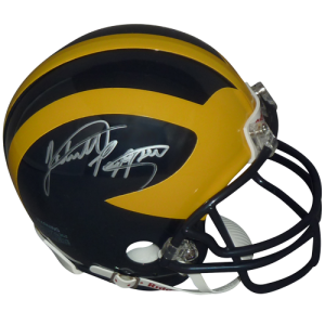 Jabrill Peppers Autographed Michigan Wolverines Mini Helmet
