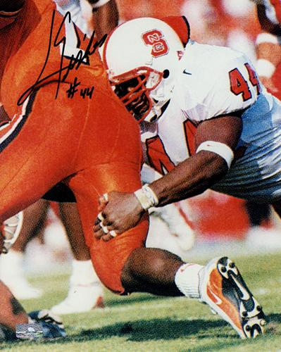 Levar Fisher Autographed North Carolina NC State Wolfpack 8x10 Photo