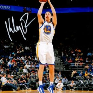 Klay Thompson Autographed Golden State Warriors 8x10 Photo