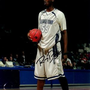 Roy Hibbert Autographed Georgetown Hoyas 8x10 Photo