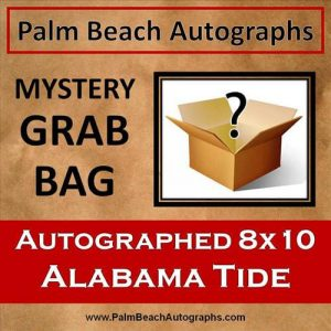 MYSTERY GRAB BAG - Alabama Crimson Tide Autographed 8x10 Photo