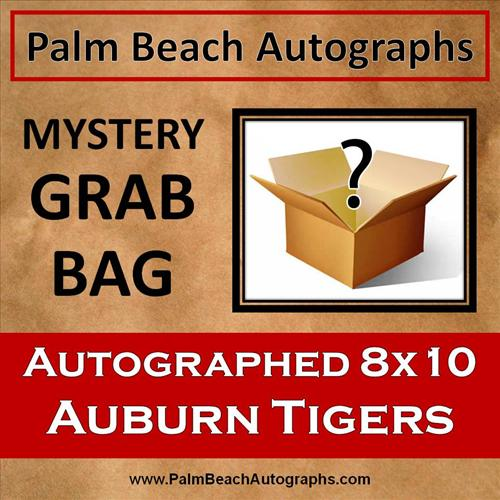 MYSTERY GRAB BAG - Auburn Tigers Autographed 8x10 Photo