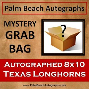 MYSTERY GRAB BAG - Texas Longhorns Autographed 8x10 Photo