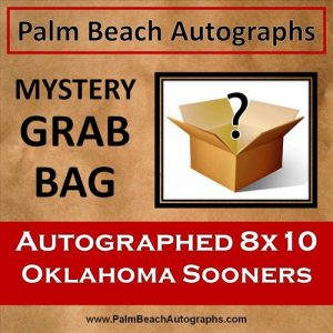 MYSTERY GRAB BAG - Oklahoma Sooners Autographed 8x10 Photo