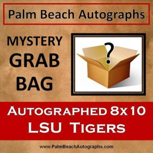 MYSTERY GRAB BAG - LSU Tigers Autographed 8x10 Photo