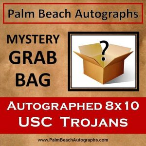 MYSTERY GRAB BAG - USC Trojans Autographed 8x10 Photo