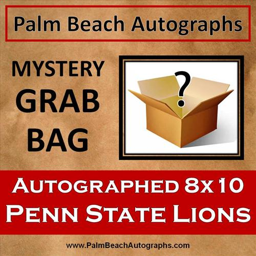 MYSTERY GRAB BAG - Penn State Nittany Lions Autographed 8x10 Photo