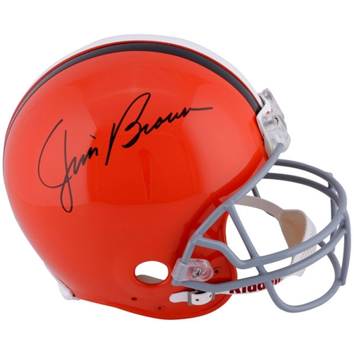 Jim Brown Autographed Cleveland Browns Authentic Pro Line Helmet