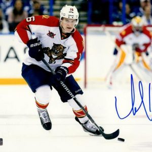Aleksander Barkov Autographed Florida Panthers 8x10 Photo