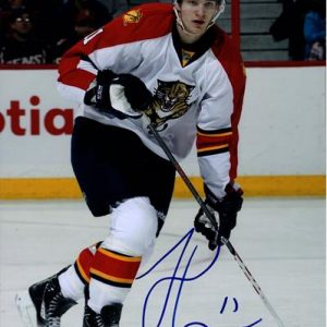 Jonathan Huberdeau Autographed Florida Panthers 8x10 Photo