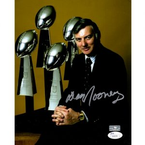 Dan Rooney Autographed Pittsburgh Steelers (Super Bowl Trophy) 8x10 Photo