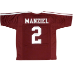 Johnny Manziel Autographed Texas A&M Aggies (Maroon #2) Jersey – JSA