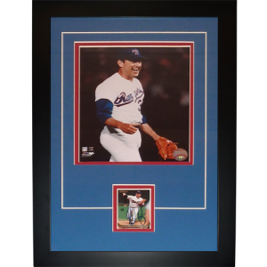 "Nolan Ryan Autographed Texas Rangers (7th No-Hiter) ""Signature Series"" Frame"