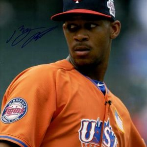 Byron Buxton Autographed Minnesota Twins 8x10 Photo