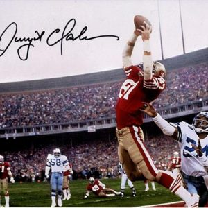 Dwight Clark Autographed San Francisco 49ers (The Catch) 11x14 Photo