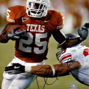 Jamaal Charles Autographed Texas Longhorns 8x10 Photo - PSADNA