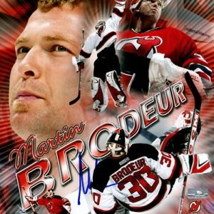 Martin Brodeur Autographed New Jersey Devils (Collage) 8x10 Photo - PSADNA
