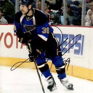 Doug Weight Autographed St. Louis Blues 8x10 Photo